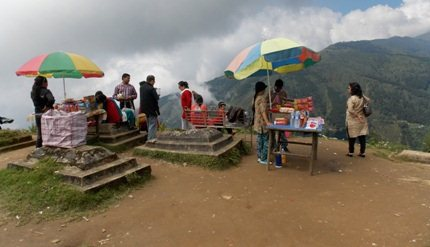 Simana, on the way to Mirik