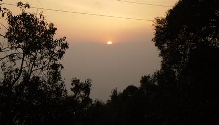 Sunset View from Chaitapani
