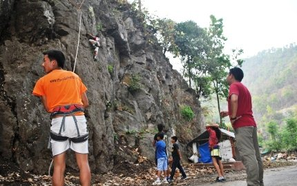 Rock Climbing in Darjeeling