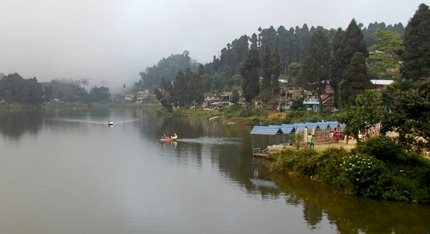 Boating at Mirik Lake