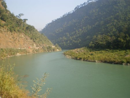 Teesta River View from NH10