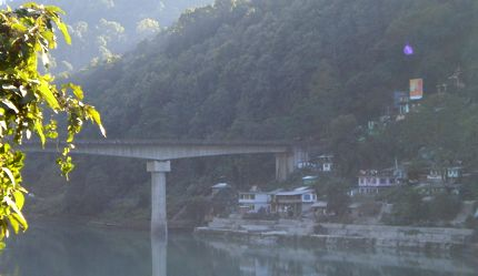 Teesta bridge