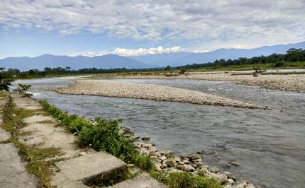 Murti river view