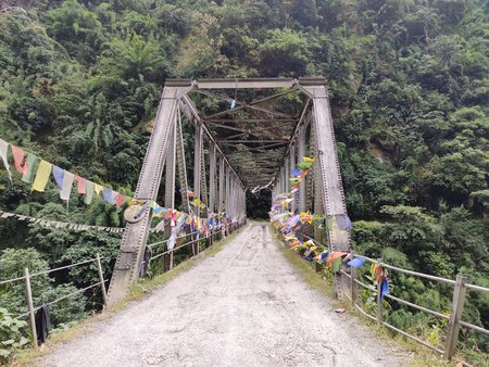 Bridge over Ratey Chu Sikkim