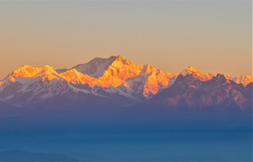 Kanchenjunga from Tiger Hill