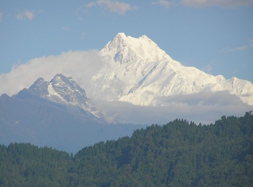 Kanchenjunga View from Gangtok